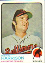 1973 Topps #229 Roric Harrison