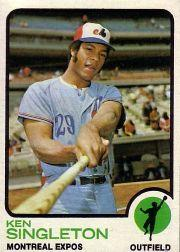 1973 Topps #232 Ken Singleton