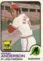 1973 Topps #241 Dwain Anderson