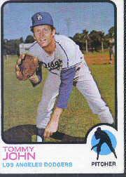 1973 Topps #258 Tommy John