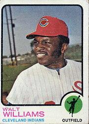 1973 Topps #297 Walt Williams
