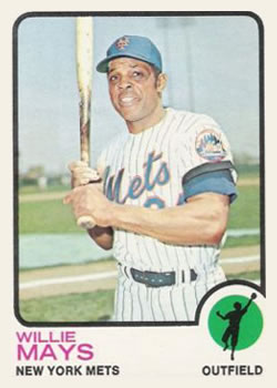 1973 Topps #305 Willie Mays
