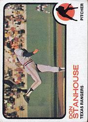 1973 Topps #352 Don Stanhouse RC