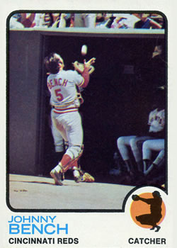 1973 Topps #380 Johnny Bench
