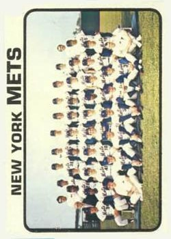 1973 Topps #389 New York Mets TC