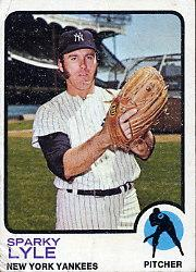 1973 Topps #394 Sparky Lyle