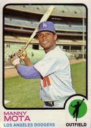 1973 Topps #412 Manny Mota