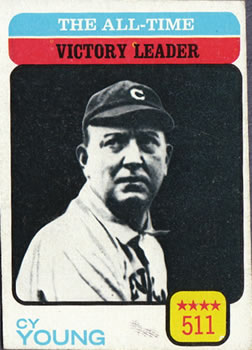 1973 Topps #477 Cy Young/All-Time Victory Leader