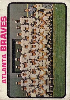 1973 Topps #521 Atlanta Braves TC
