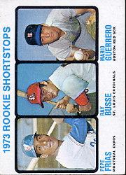 1973 Topps #607 Rookie Shortstops/Pepe Frias RC/Ray Busse/Mario Guerrero RC