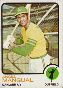 1973 Topps #625 Angel Mangual
