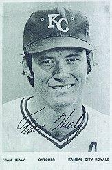 1974 Royals Postcards #12 Fran Healy