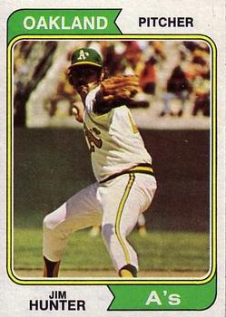 1974 Topps #7 Jim Hunter