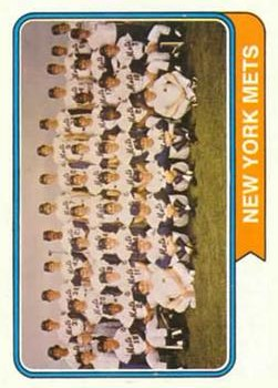 1974 Topps #56 New York Mets TC