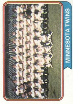 1974 Topps #74 Minnesota Twins TC