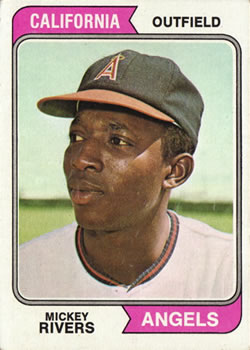 1974 Topps #76 Mickey Rivers