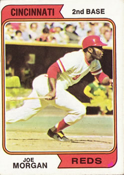 1974 Topps #85 Joe Morgan