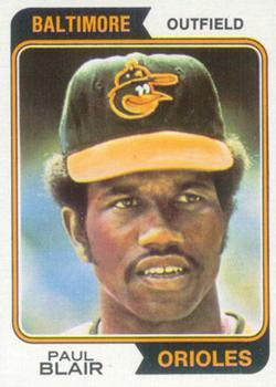 1974 Topps #92 Paul Blair