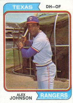 1974 Topps #107 Alex Johnson