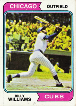 1974 Topps #110 Billy Williams