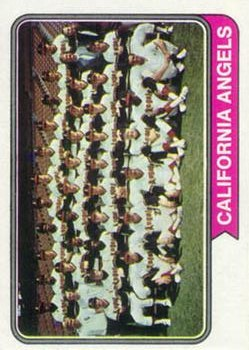 1974 Topps #114 California Angels TC