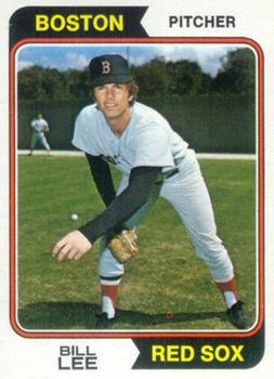 1974 Topps #118 Bill Lee