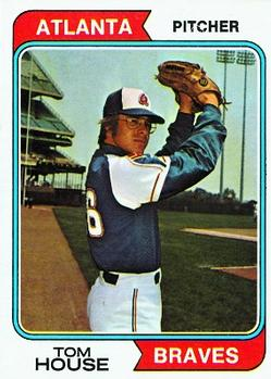 1974 Topps #164 Tom House