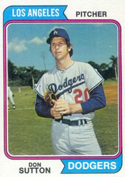 1974 Topps #220 Don Sutton