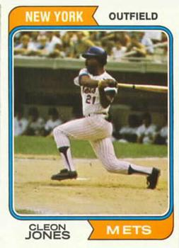 1974 Topps #245 Cleon Jones
