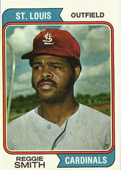 1974 Topps #285 Reggie Smith