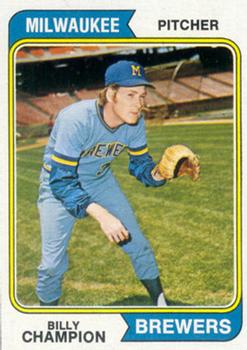 1974 Topps #391 Billy Champion