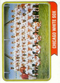 1974 Topps #416 Chicago White Sox TC