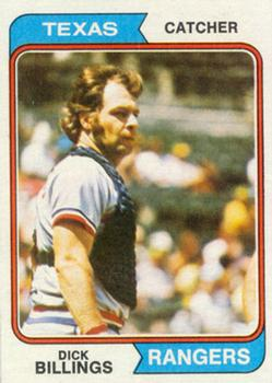 1974 Topps #466 Dick Billings