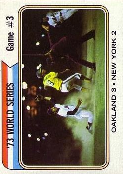 1974 Topps #474 World Series Game 3/Bert Campaneris