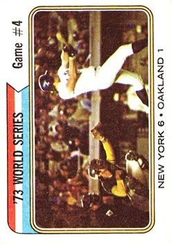 1974 Topps #475 World Series Game 4/Rusty Staub