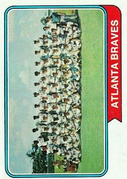 1974 Topps #483 Atlanta Braves TC