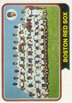 1974 Topps #567 Boston Red Sox TC