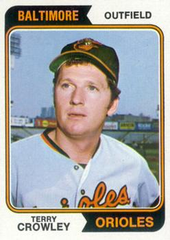 1974 Topps #648 Terry Crowley