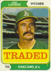 1974 Topps Traded #62T Bob Locker