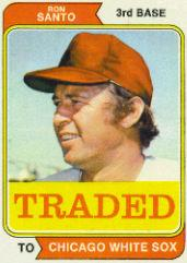 1974 Topps Traded #270T Ron Santo