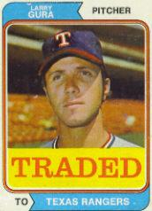 1974 Topps Traded #616T Larry Gura