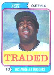 1974 Topps Traded #630T Tommie Agee