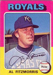 1975 Topps #24 Al Fitzmorris