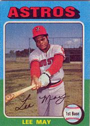 1975 Topps #25 Lee May