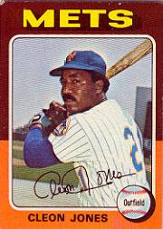 1975 Topps #43 Cleon Jones