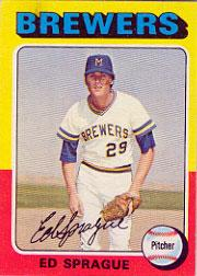 1975 Topps #76 Ed Sprague