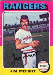 1975 Topps #83 Jim Merritt