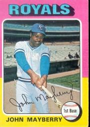 1975 Topps #95 John Mayberry