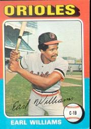 1975 Topps #97 Earl Williams