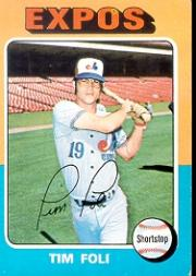 1975 Topps #149 Tim Foli